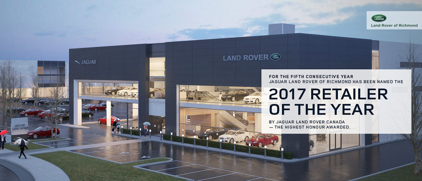 2017 Retailer of The Year Richmond Land Rover